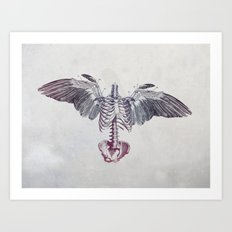 Dead Things Art Print