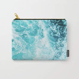 Perfect Sea Waves Carry-All Pouch