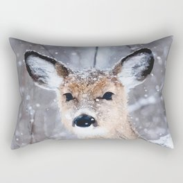 Oh deer, oh deer Rectangular Pillow
