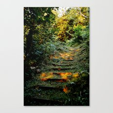 Enchanted Stairway Canvas Print