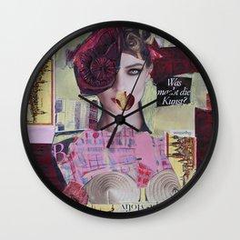 City NeuRoses Wall Clock