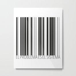 capitalism Metal Print