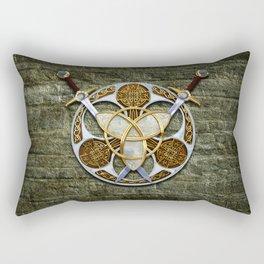 Celtic Shield and Swords Rectangular Pillow