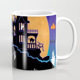 Halloween Haunted House Coffee Mug