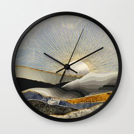 Morning Sun Wall Clock