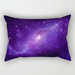 Ultra Violet Galaxy Rectangular Pillow