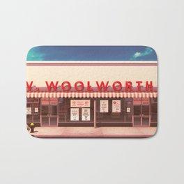 F.W. Woolworth Bath Mat