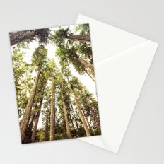 Forest Sky - The Canopy Trees Woods Stationery Cards