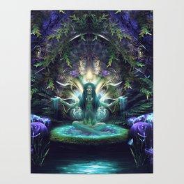 Convalescence - Visionary - Fractal - Manafold Art Poster
