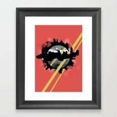 The Event Horizon Framed Art Print