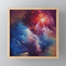 Misterious Space Framed Mini Art Print