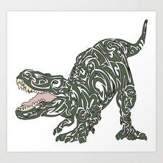 Tyrannosaurus Rex Art Print
