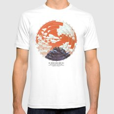Base Camp SMALL White Mens Fitted Tee
