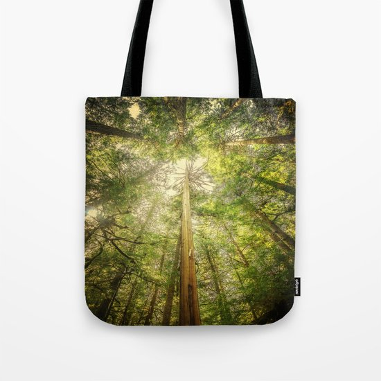 Forest Tree Tops Tote Bag