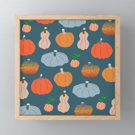 Halloween pumpkin fest Framed Mini Art Print