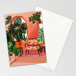 Home is where my plants are! Stationery Cards
