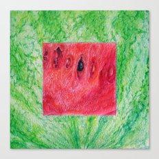 Fresh: Watermelon Canvas Print