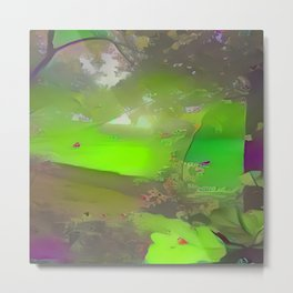 Abstract Forest 3 Metal Print
