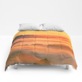 Sunset before Comforters