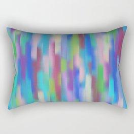 Blue lines pattern Rectangular Pillow