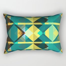 TriMap Rectangular Pillow