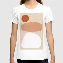 Abstract Shape Series - Stacking Stones T-shirt