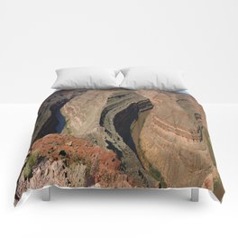 The Goosnecks - A Meander Of The San Juan River Comforters
