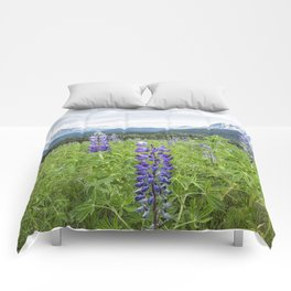 Lupin and the Beauty of Alaska Comforters