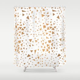 trianglo Shower Curtain