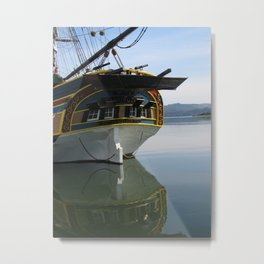 Lady Washington Tall Ship....... Metal Print