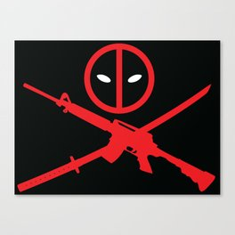 Deadpool - Wade Wilson 2 Canvas Print