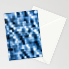Smooth Blue Stationery Cards
