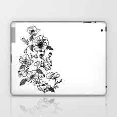 White poppies Laptop & iPad Skin