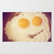 smiley egg Rug
