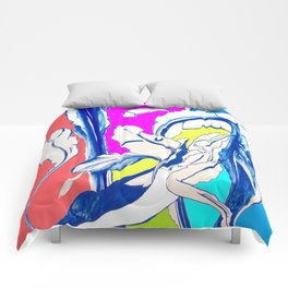 Plant in Blue Marker - Leaf of Life Miracle Leaf - Colorful Comforters