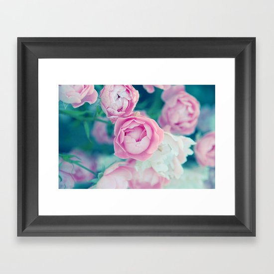 Miss Rose Framed Art Print