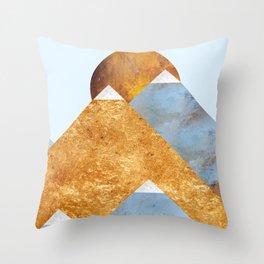 Modern Mountain No5-P2 Throw Pillow