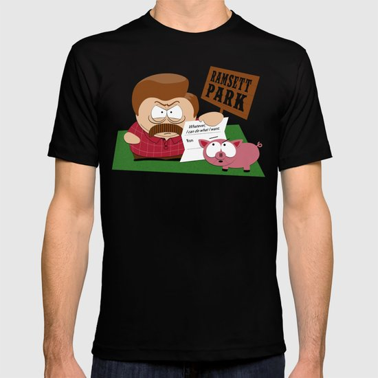 South Parks and Rec T-shirt