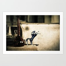 Horse of Glass, Italy Art Print