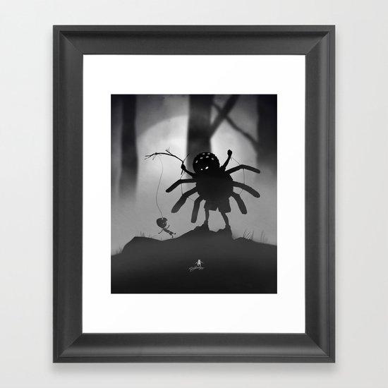 Limbo Kid Framed Art Print