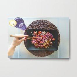 Asian Food 01 Metal Print