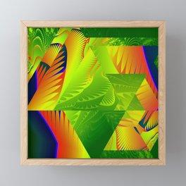 Great Green Frac 2 Framed Mini Art Print