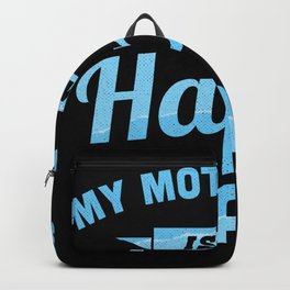 My Motorhome is my Happy Place (Gift) Backpack