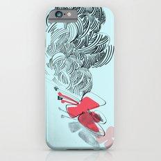 in red iPhone 6s Slim Case