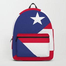 Puerto Rico flag emblem Backpack