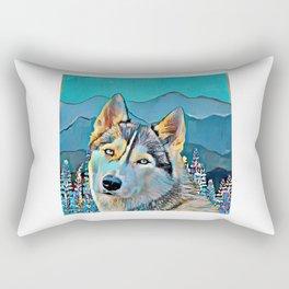 Mountain Dog  Rectangular Pillow