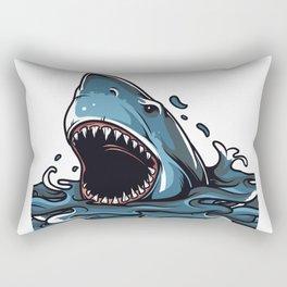 Shark Rectangular Pillow