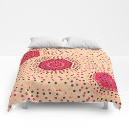Shapes- aboriginal II Comforters