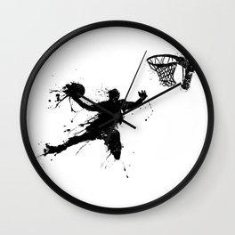 Slam dunk Basketballer Wall Clock