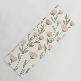 Rose Garden Pattern Yoga Mat